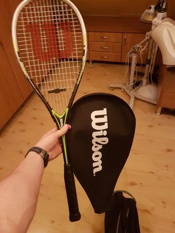 Zestaw rakieta do squasha WILSON i torba ndo squasha Babolat Team