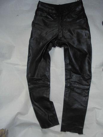 HEIN GERICKE spodnie skórzane męskie motorowe r 50M