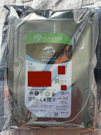 Dysk HDD Seagate SKYHAWK SURVEILLANCE 6TB nowy, gwarancja
