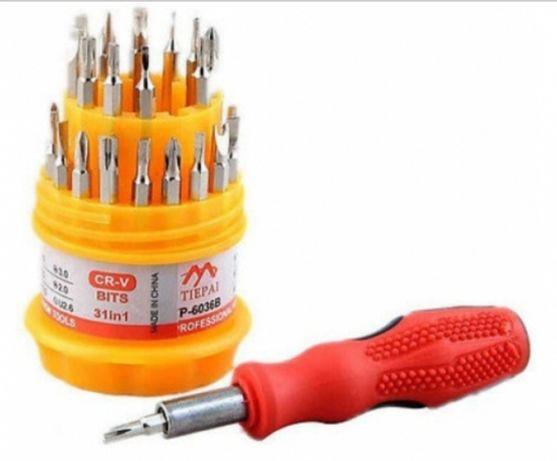 Zestaw śrubokręt wkrętaki torx 31w1 imbus śrubokrę