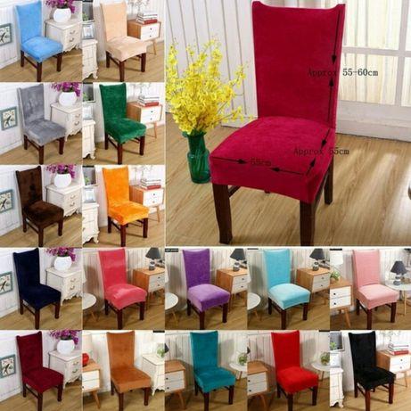 Capas para cadeiras- Veludo