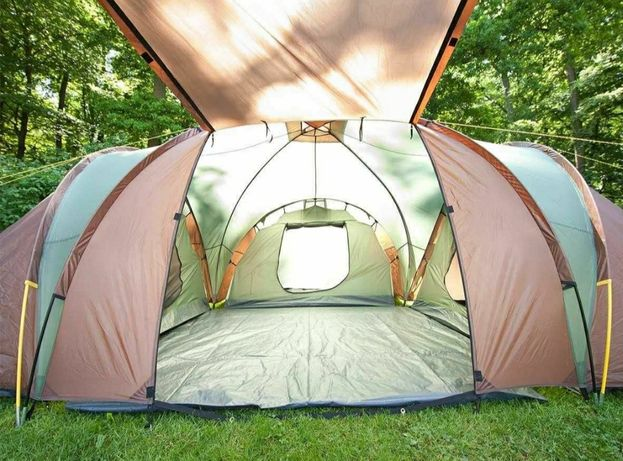 Палатка намет кемпінг Skandika Silverstone 6 9 XXL
