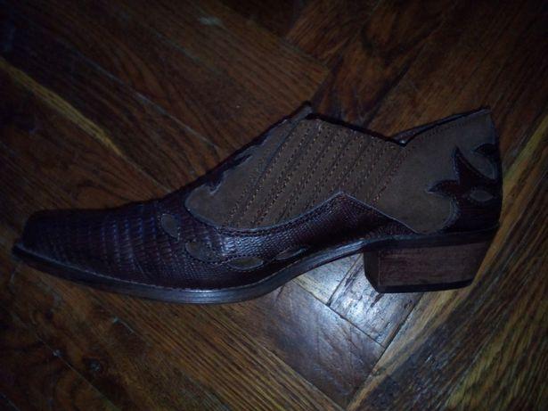 Обменяю ковбойские ботинки, кожа