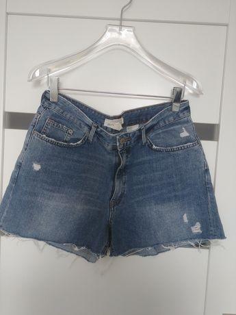 Szorty jeansowe h&m 42