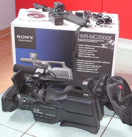 Kamera SONY HXR-MC2000E - AVCHD HD/SD + AKCESORIA - Stan Perfekt -