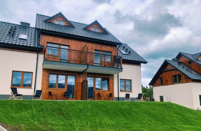 Górski Klimat apartamenty z tarasami i panoramicznym widokiem na Góry!