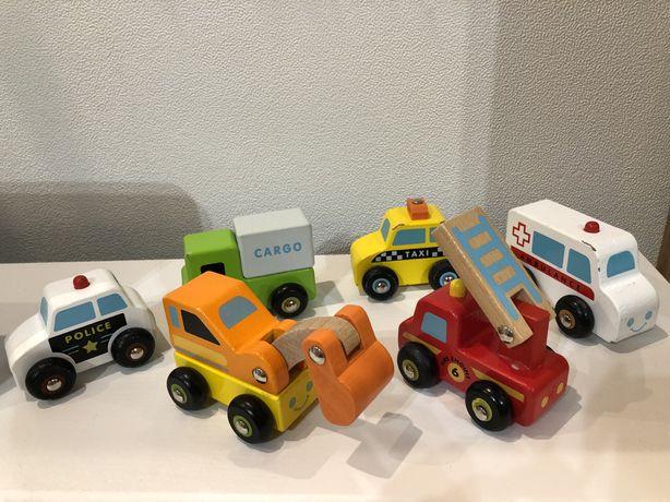 Машинки, строительная техника, пожарная, полицейская