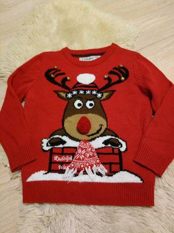 Новогодний свитер кофта новорічна унисекс свитшот Rebel