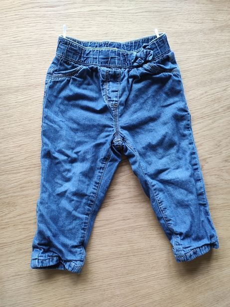 Spodnie dżinsowe Cool club, r. 80