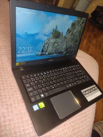 Ноутбук ACER ASPIRE i5 7200u 3.1GHz NVIDIA 940MX 2GB.8GB DDR4.256SSD!