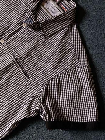 Koszula męska slim w kratkę Diverse