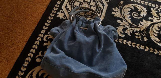 Duża niebieska torba Venezia
