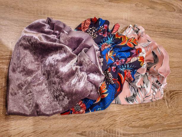 Czapki czapeczki typu turban różne wzory