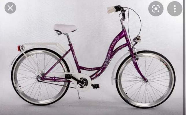 rower miejski damski