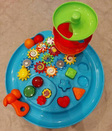 Stolik sensoryczny ruch kształty kolory manualny rozwój