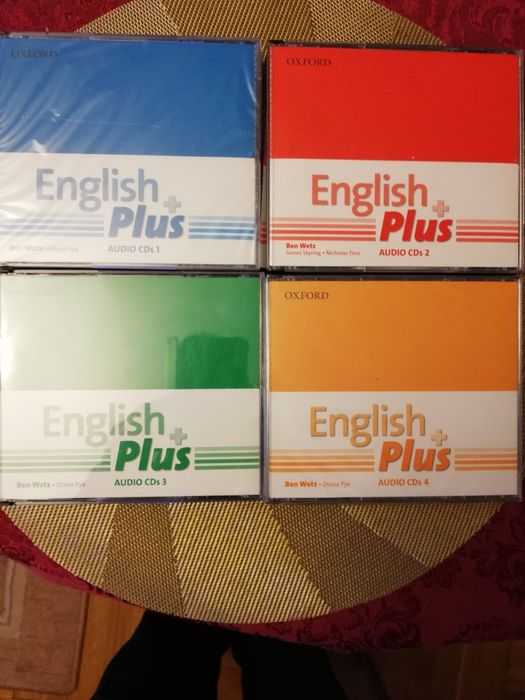 English Plus 1, 2, 3, 4. Audio CDs. Legnica - image 1