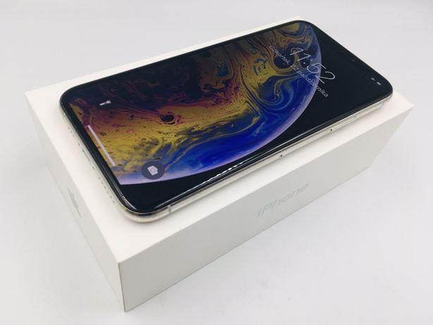 iPhone XS 64GB SILVER • PROMOCJA • GWAR 1 MSC • AppleCentrum
