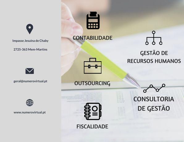 Serviços de Contabilidade - IRS, IRC, IVA, DMR, FCT, FGCT
