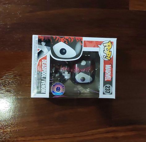 Funko Pop Deadpool / Venom Metálico Pop In A Box 237