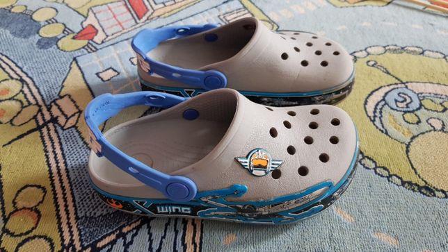 Crocs C12 святящиеся Star Wars на мальчика