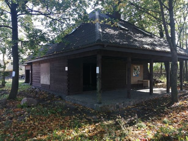 Nowy dom drewniany z bala gmina Juchnowiec Kościelny