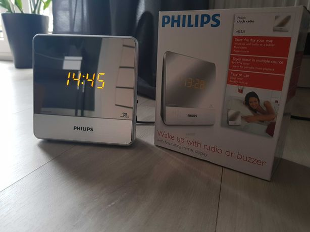 Radiobudzik Philips