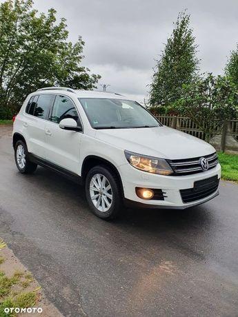 Volkswagen Tiguan VW Tiguan Lift 2012 Rok 2.0 TDi 140KM Biały Klima Opłacony Serwis