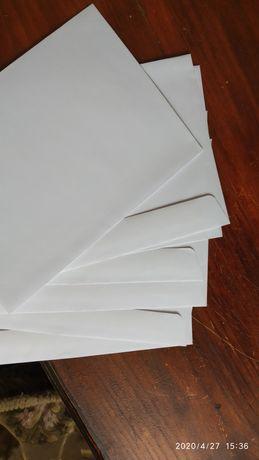 Продам чисті конверти без написів
