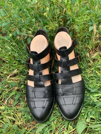 Кожаные туфли Vagabond 39 р