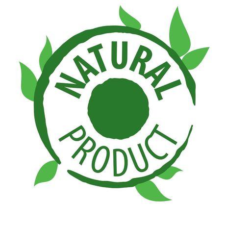Pequeno stock de produtos naturais e biológicos