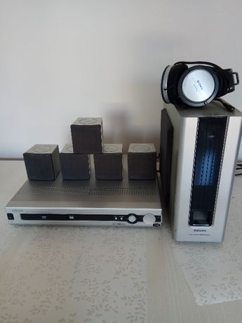 kino domowe Philips LX 3000D + słuchawki Sony