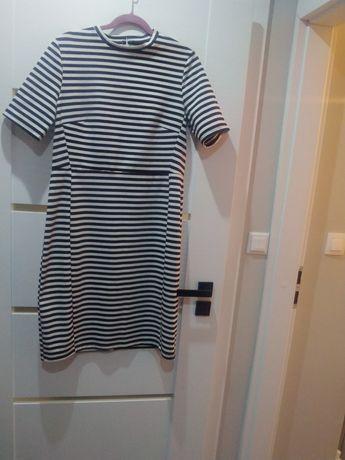 Sukienka w paski Reserved XL