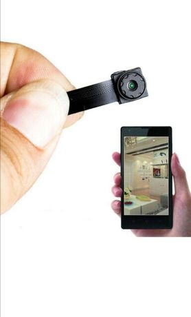 (NOVO) MICRO CÂMERA Espiã 1080P HD 8Horas Autonomia - App Tempo Real