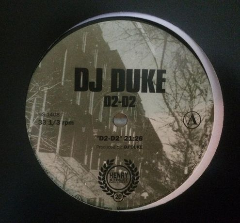 DJ Duke ‎– D2-D2 (novo / mint)