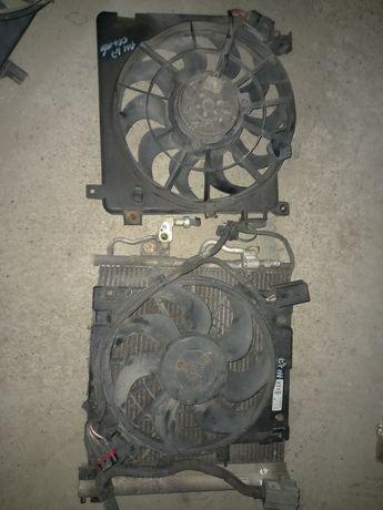 вентилятор кондиціонера тосола Opel Astra H 1.7CDTI разборка