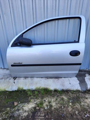 Opel Corsa C drzwi lewe przednie przod Z157 Kompletne
