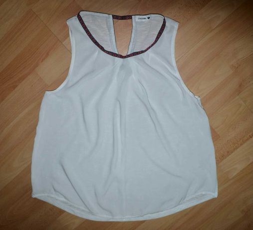 Лёгкая блуза / блузка / топ /свободный крой / разлетайка / вишиванка
