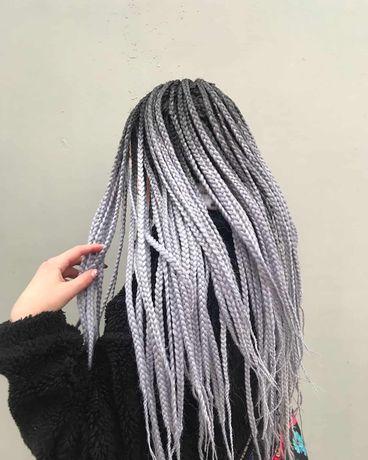 Плетение кос, афрокосы
