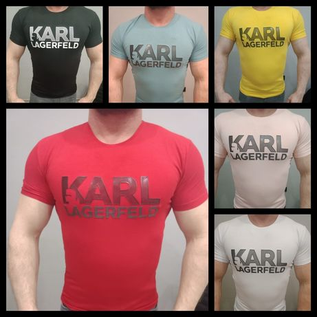 Koszulka t-shirt Męska Karl Lagerfeld Premium S-XXL Outlet