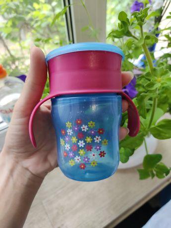 Чашка стакан непроливайка Philips avent 200 мл