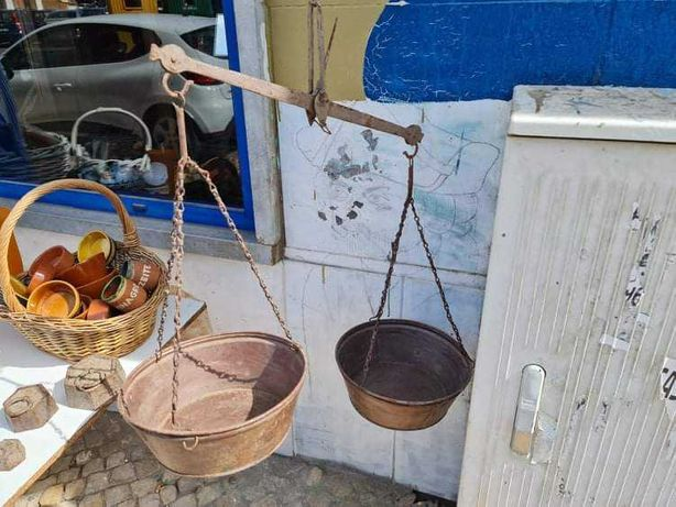 Balança de Peixeiro Antiga