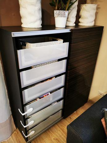 Komoda Ikea 3 elementy regał półki szuflady witryna Ikea Siechnice