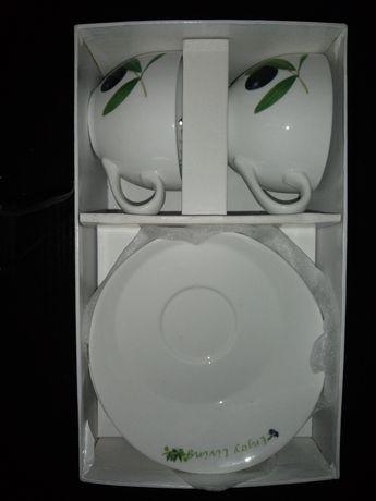 Керамический набор чашек
