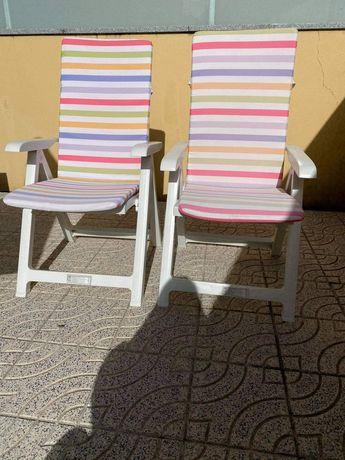 Cadeira com 4 posições
