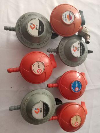 Redutores de botijas de gás
