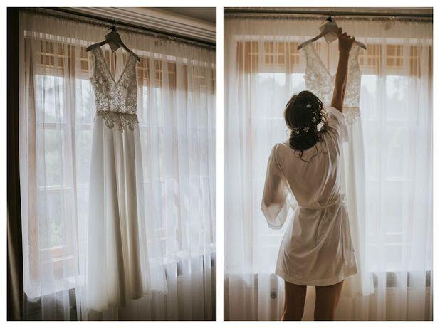 Suknia ślubna projektu Joanny Niemiec Atelier