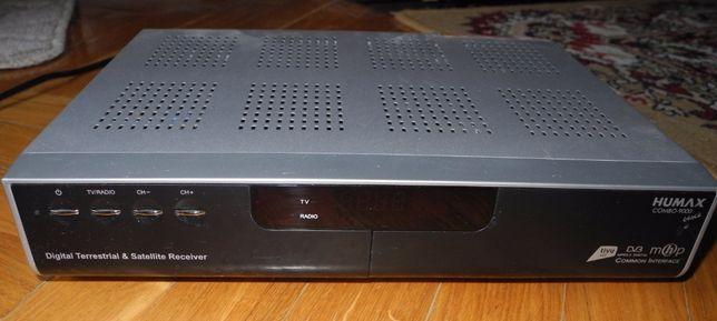 ТВ-тюнер спутниковый DVB-S, эфирный цифровой DVB-T и радио