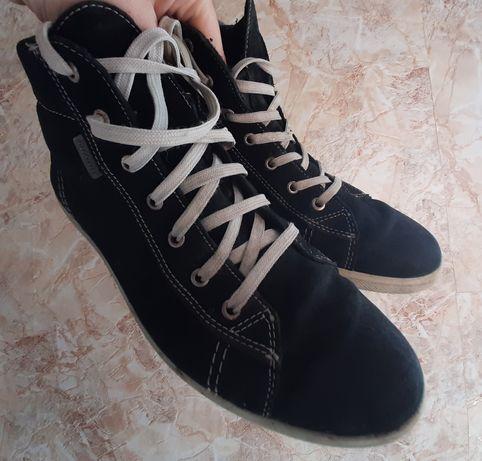 Кеды замшевые кроссовки рикоста