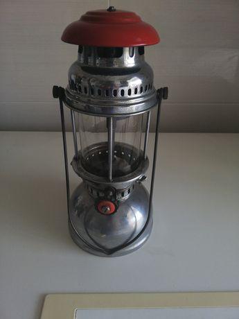 Lanterna/candeeiro muito antiga de Inox marca  usada mas em bom estado