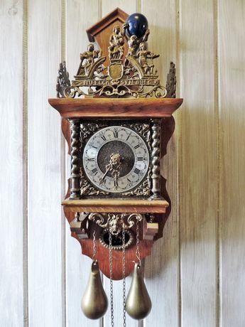 Zabytkowy Zegar wagowy NU ELCK SYN SIN Atlas Mosiądz